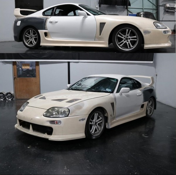 TOYOTA SUPRA WIDE BODY KIT (FRONT BUMPER FB-1004 , FRONT BONET BNC-B45 , FRONT FENDER FND-16F, SIDE SKIRT SK-3020 , REAR FENDER FND-16R , REAR BUMPER RB-447 , REAR SPOILER RSP-777 )2