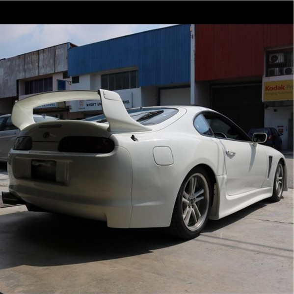 TOYOTA SUPRA WIDE BODY KIT (FRONT BUMPER FB-1004 , FRONT BONET BNC-B45 , FRONT FENDER FND-16F, SIDE SKIRT SK-3020 , REAR FENDER FND-16R , REAR BUMPER RB-447 , REAR SPOILER RSP-777 )4