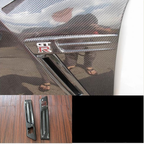 NISSAN GTR 35 FENDER LOGO COVER ( MG-50 )1