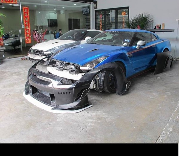 NISSAN GTR 35 R&K BODY KIT6