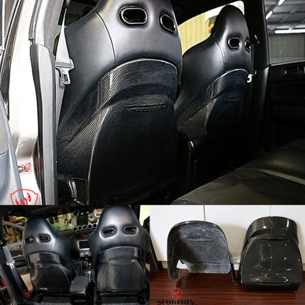 EVO 7,8,9 REAR SEAT COVER .( MG-128)2