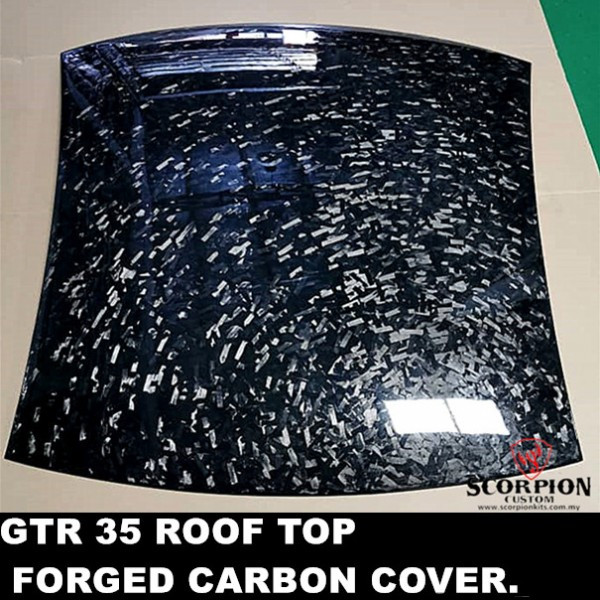 ROOF TOP FORGED CARBON COVER ( MG-129 )1