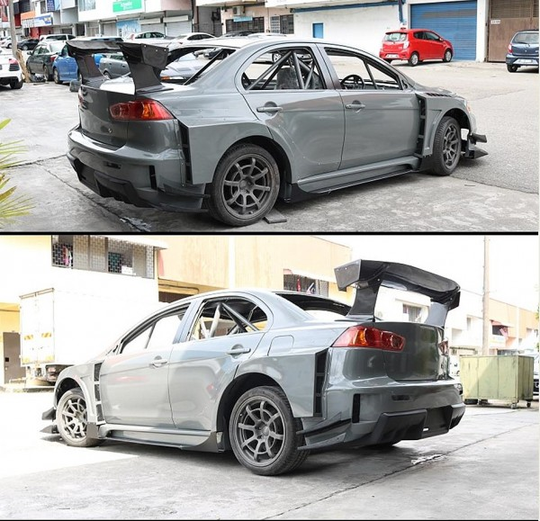 EVO X SCORPION GT X WIDE BODY KITS .5