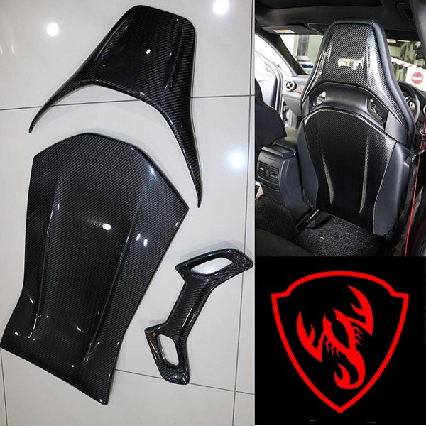 BENZ W176 A45 & GLA 45 SEAT CARBON COVER ( MG - 100 )1