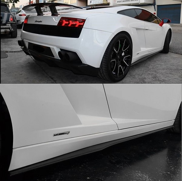 GALLARDO SIDE STAP CARBON ( SK - 3057 )3