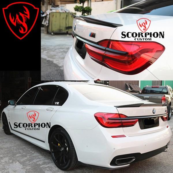 BMW 7 SERIES G12 REAR CARBON SPOILER ( RSP 797 )2