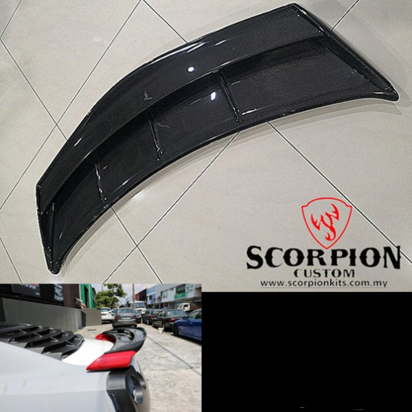 GTR 35 REAR TOP UP CARBON SPOILER ( RSP 7011 )3