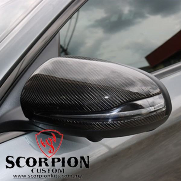 BENZ GLC COUPE CARBON SIDE MIRROR COVER ( MG 94 )1