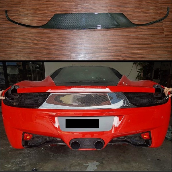 FERRARI 458 CARBON REAR BUMPER AIR VENT ( MG-87 )1