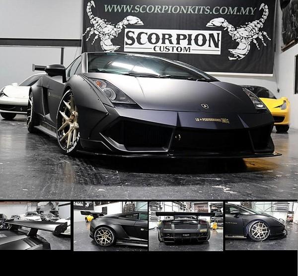 Lamborghini Gallardo Scp Gt Wide Body Kit