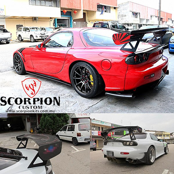 MAZDA RX-7 REAR GT WING ( RSP 769 )1
