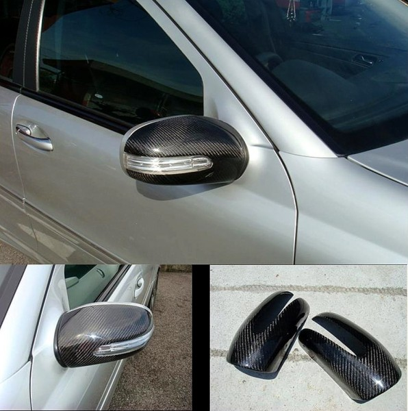 C-CLASS W203 SIDE MIRROR CARBON COVER ( MG-43 )1