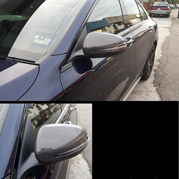 C-CLASS W205 SIDE MIRROR CARBON COVER ( MG-95 )2