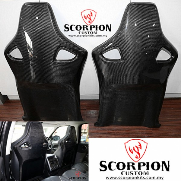 RANGE ROVER SVR SEAT CARBON COVER ( MG 125 )1